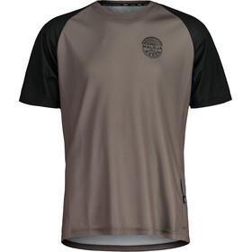Maloja StachelbeereM. Multi Short Sleeve Multisport Jersey Men, gris/negro